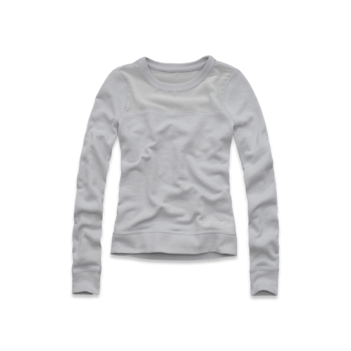 girls chiffon panel sweatshirt