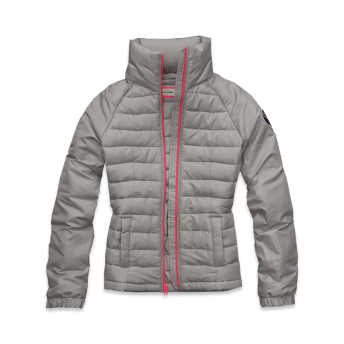 girls lightweight puffer
