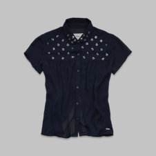 girls pretty embellished shirt