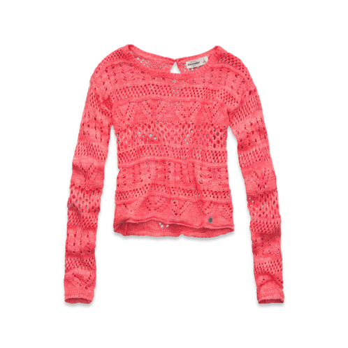 girls cute crochet sweater