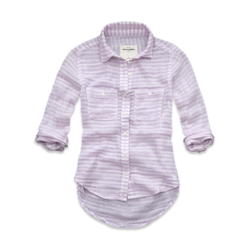 girls classic striped shirt