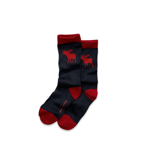 boys contrast color socks
