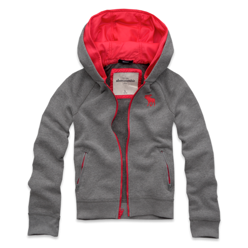 tops pop-color hoodie