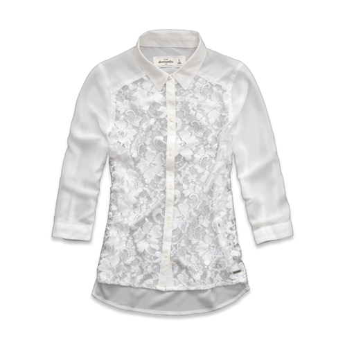 tops pretty chiffon shirt