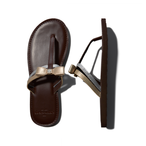girls shine leather sandals