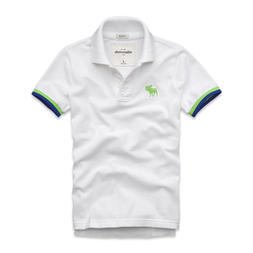 tops tipped polo