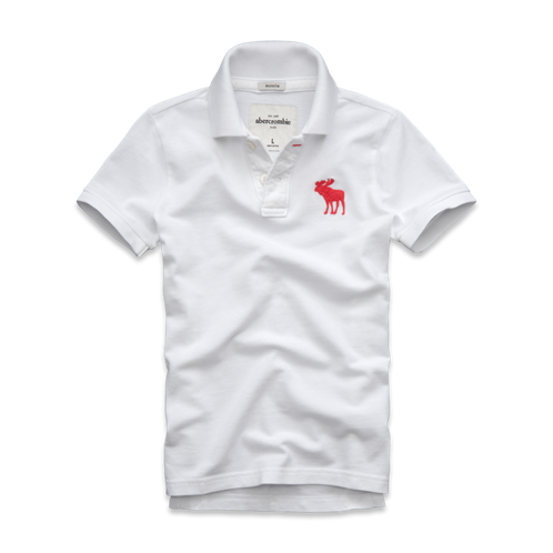 boys pop-color logo polo