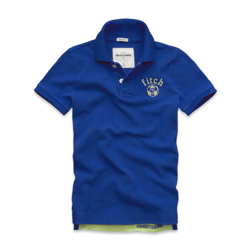 boys message graphic polo