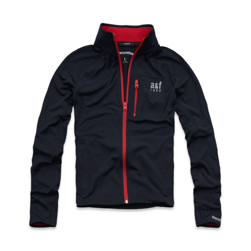 guys a&f active full-zip