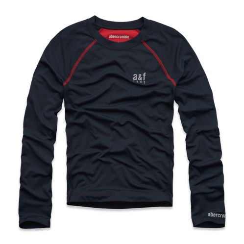 boys a&f active baselayer