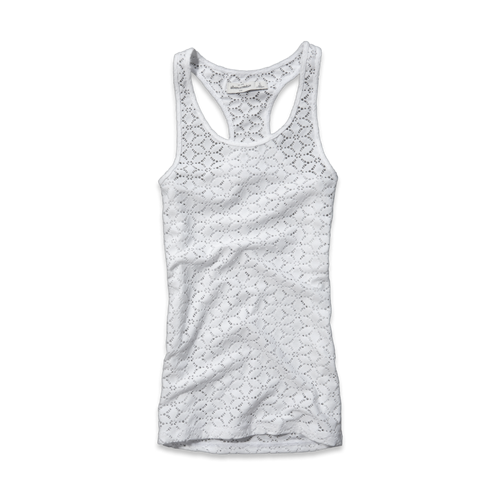 girls all-over lace boytank