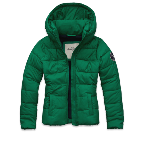 featured items classic puffer jacket