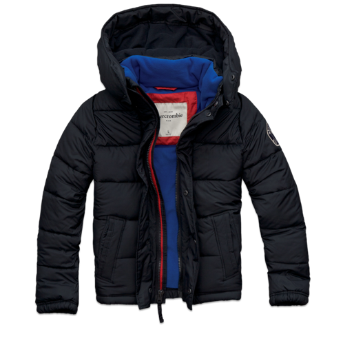 guys lightly lined puffer jacket