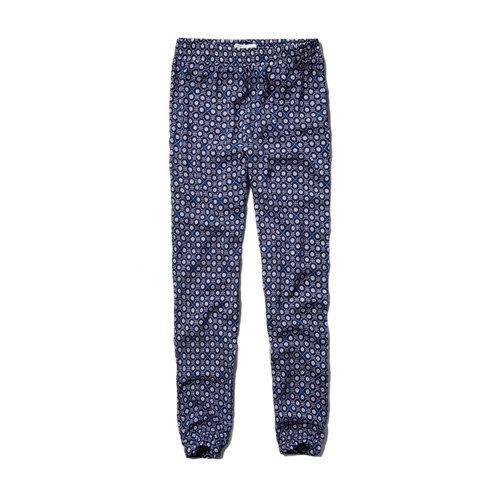 girls pattern soft drapey pants