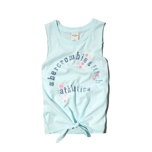 girls graphic tank