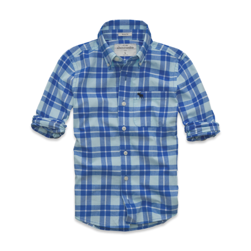 tops classic plaid shirt
