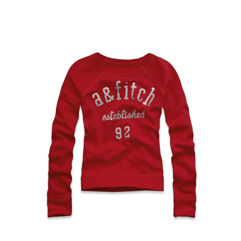 girls eliza glitter sweatshirt