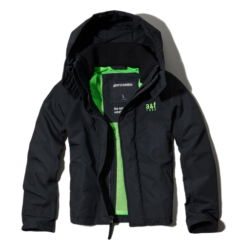 outerwear a&f all-season weather warrior jacket