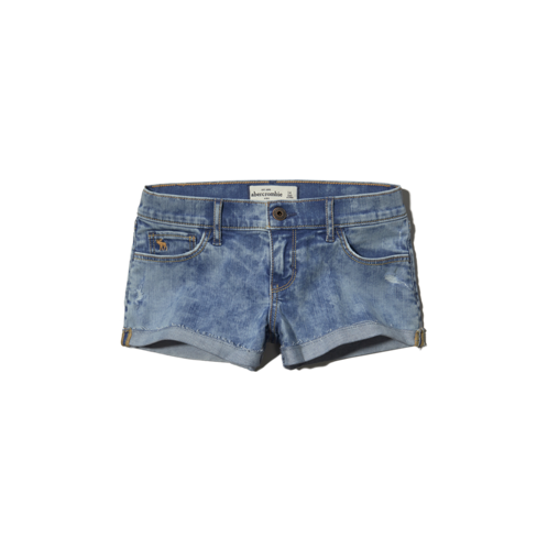 girls a&f low rise shorts