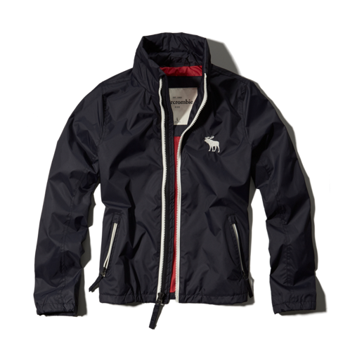 boys mock neck windbreaker