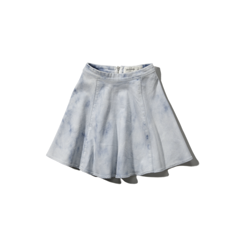 girls chambray skater skirt