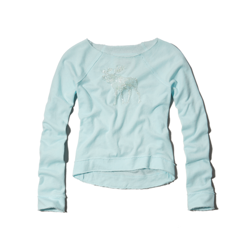 tops shine sweatshirt