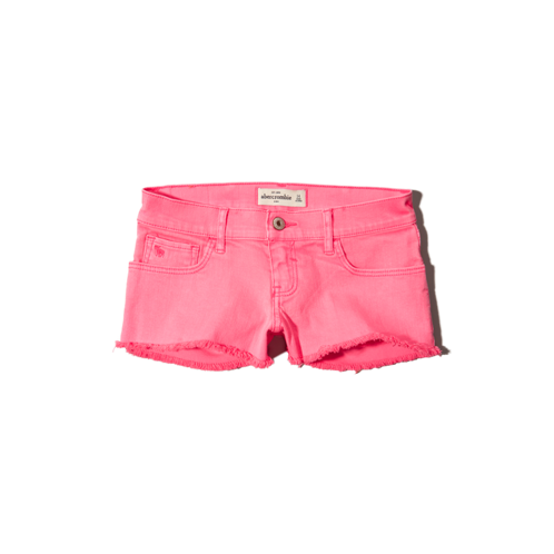 bottoms a&f low rise shorts