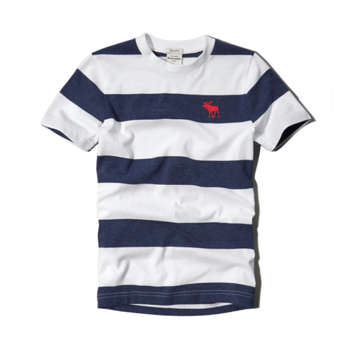 guys striped tee