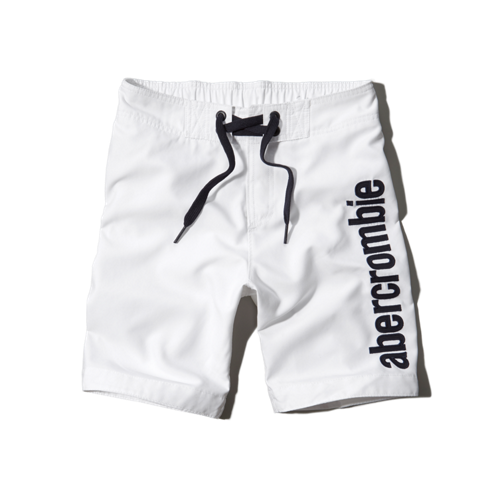 guys logo board shorts