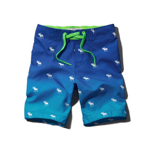 boys dip-dye board shorts