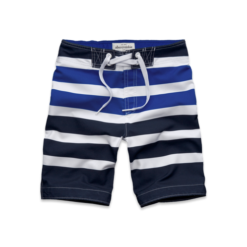 guys striped board shorts