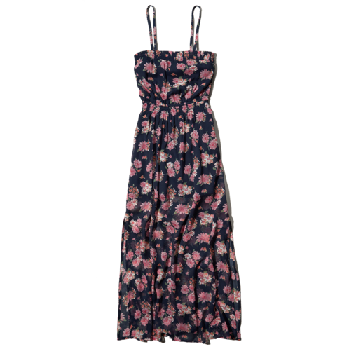 girls chiffon maxi dress