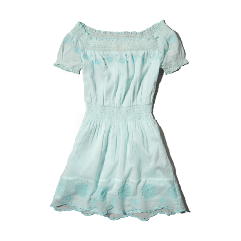 girls pretty embroidered dress
