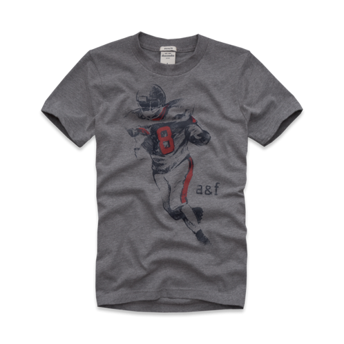 tops sports graphic tee