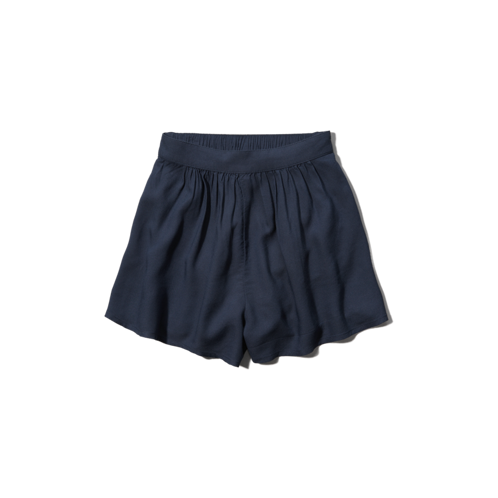 bottoms drapey culotte shorts