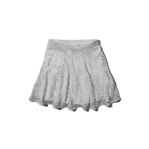 bottoms lace skater skirt