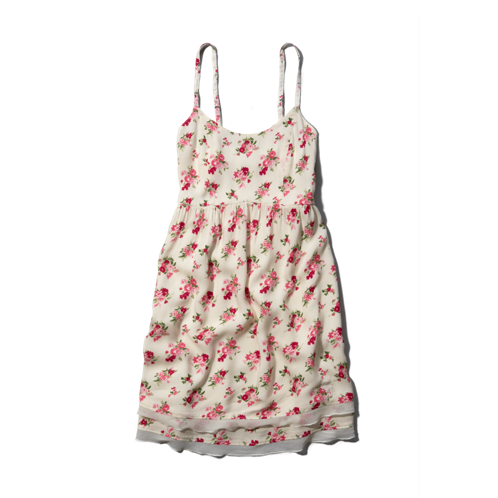 girls floral babydoll dress
