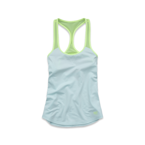girls a&f active tank