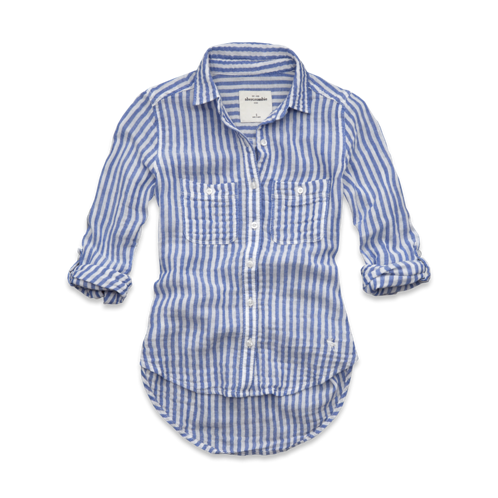 tops classic striped shirt