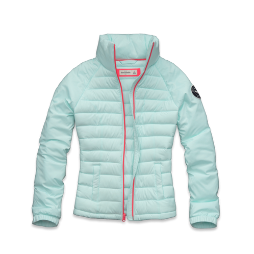 girls lightweight puffer jacket