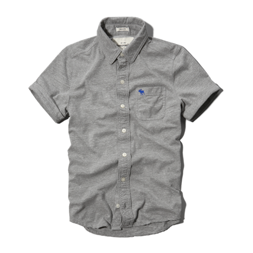 boys knit button-down shirt