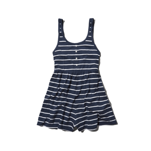 girls striped romper