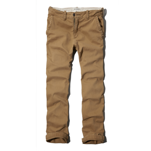boys a&f classic chinos