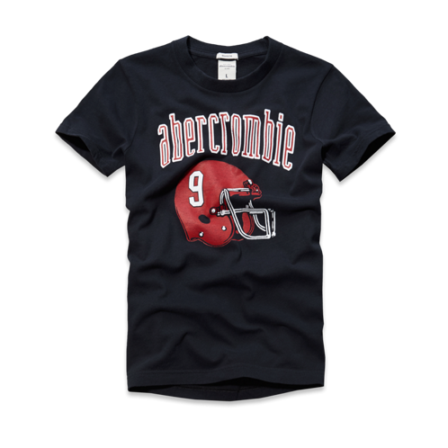 guys athletic logo tee