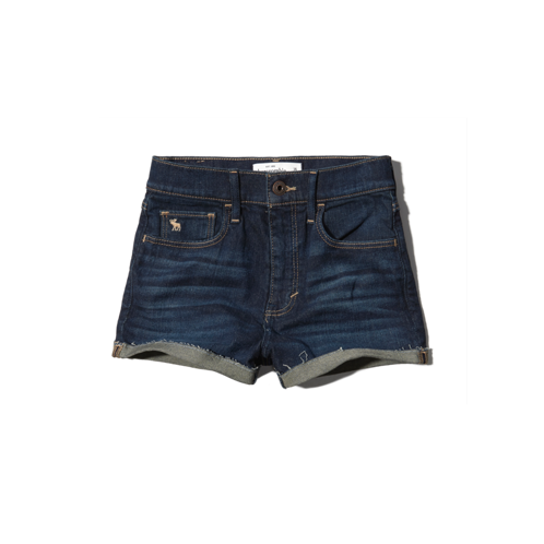 girls a&f natural waist shorts