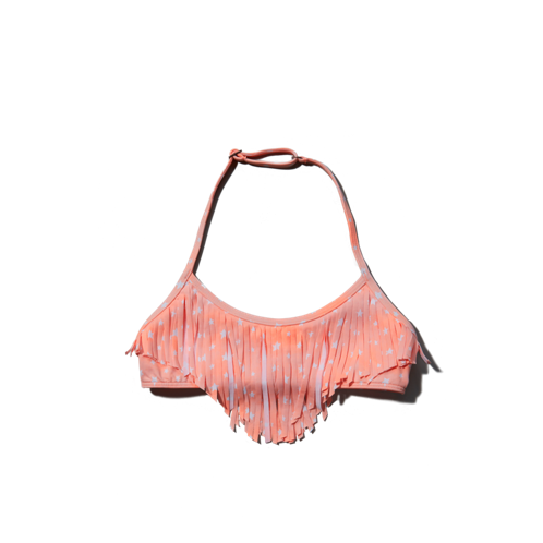swim fringe swim top