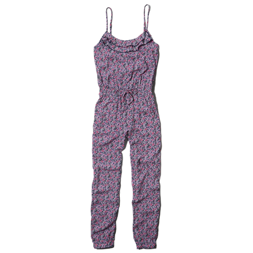 girls patterned jumpsuit