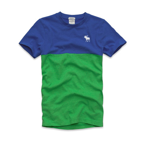tops multi-color tee