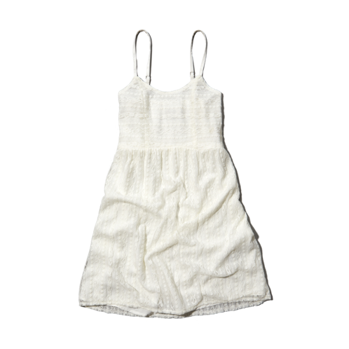 girls lace babydoll dress