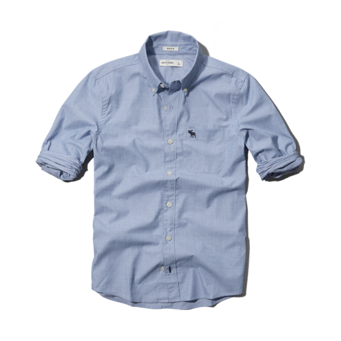 boys classic solid shirt